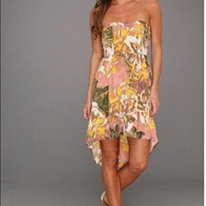 BB Dakota Size 2 high low floral dress